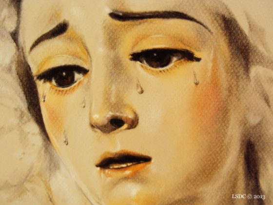 Nuestra Señora del Loreto por la artista plástica Inma Peña