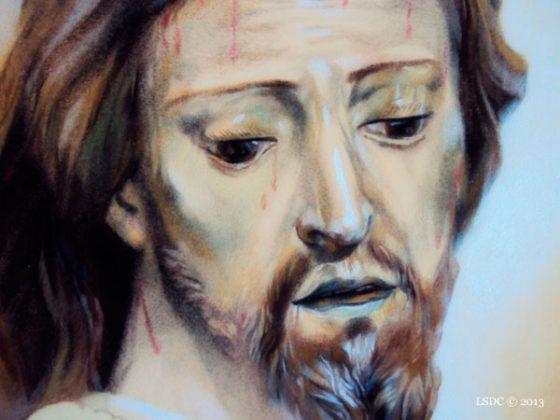Jesús del Consuelo por la artista plástica Inma Peña