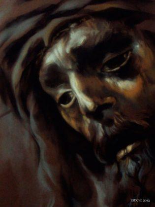 Jesús del Gran Poder por la artista plástica Inma Peña