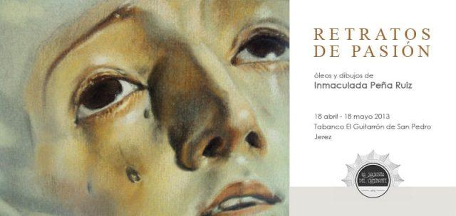 Exposición Retratos de Pasión por Inma Peña
