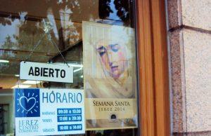 Cartel Semana Santa 2014 de La Sacristía del Caminante