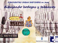 II Encuentro Urban Sketchers en Jerez