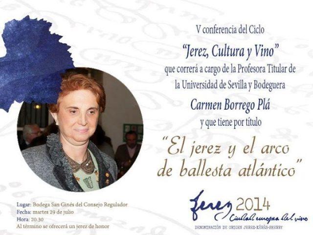 V Conferencia del Ciclo 'Jerez, Cultura y Vino': El Jerez y el Arco de Ballesta Atlántico