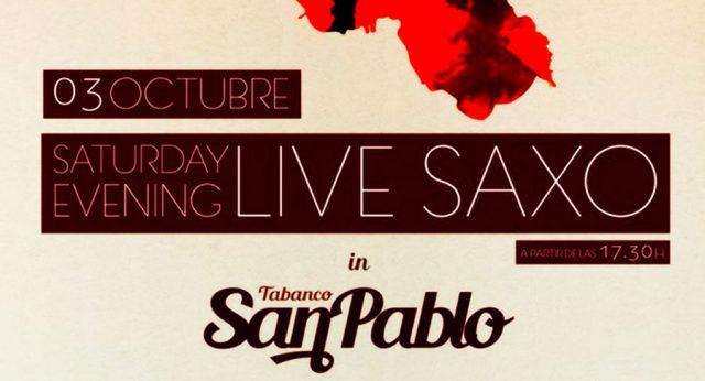Concierto de Saxo en el Tabanco San Pablo