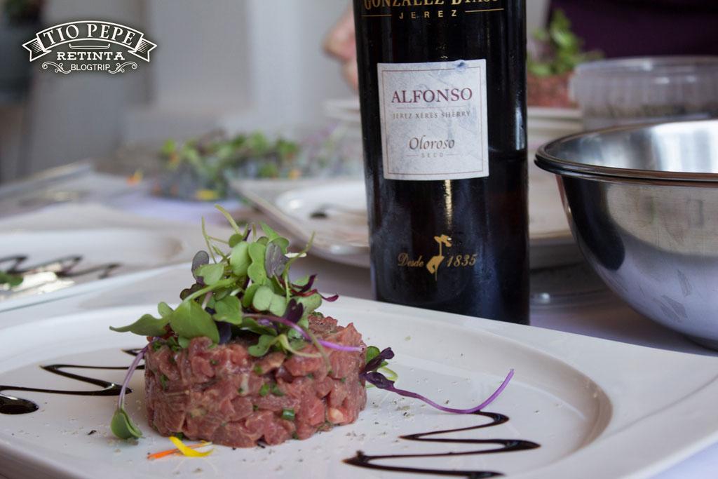 Unión entre la Ternera Retinta con los Vinos de Jerez de González Byass