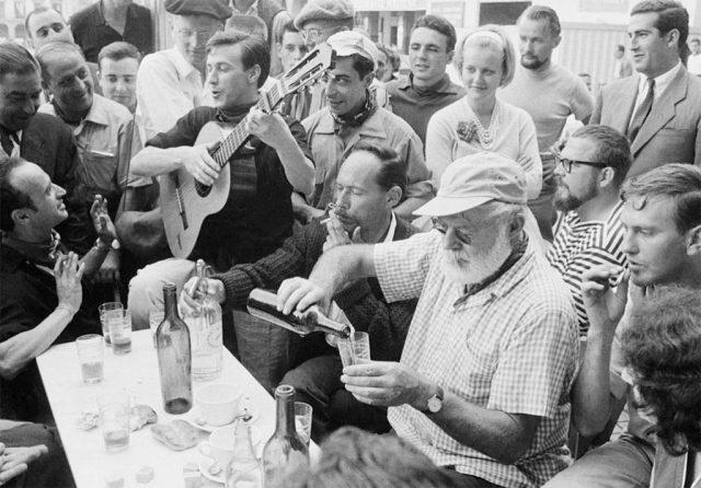 Comer con Hemingway