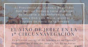 El Vino de Jerez en la 1ª Circunnavegación