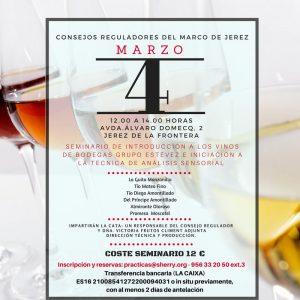 Seminario de Introducción a los Vinos de Bodegas Grupo Estévez