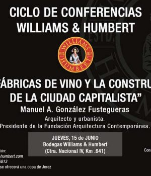Ciclo de conferencias Williams & Humbert