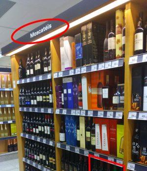 Stand moscateles Vinos de jerez