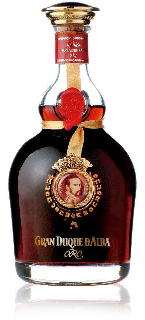 El Brandy Gran Duque de alba oro, mejor destilado de España