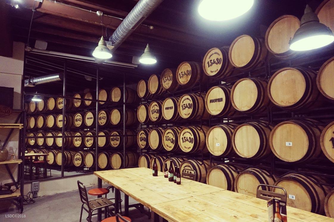 Fábrica de Cervezas Artesanales 15&30 Sherry Cask