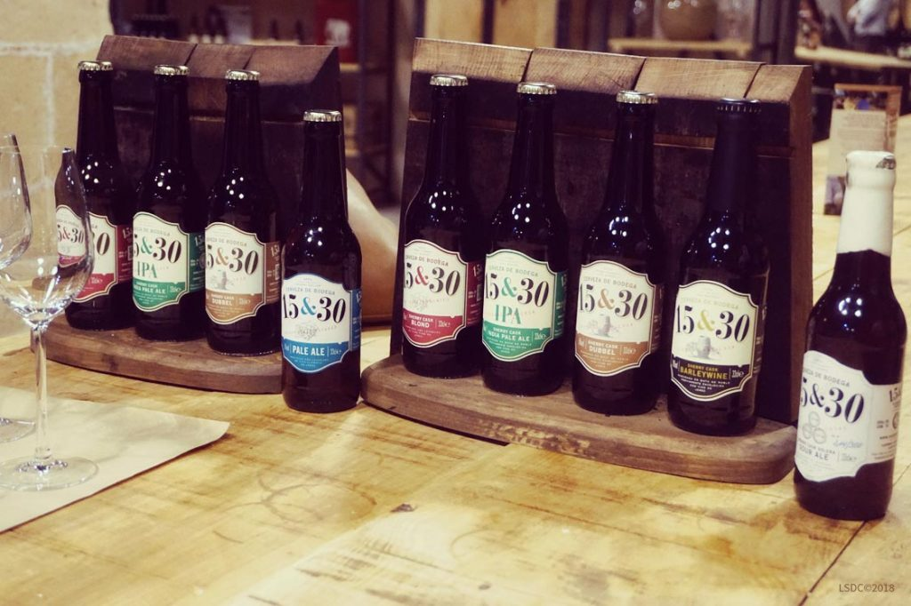 Gama de Cervezas Artesanales 15&30 Sherry Cask