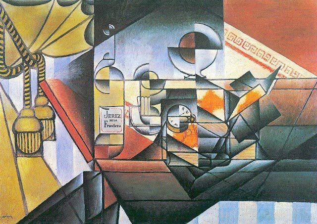 Juan Gris. El reloj