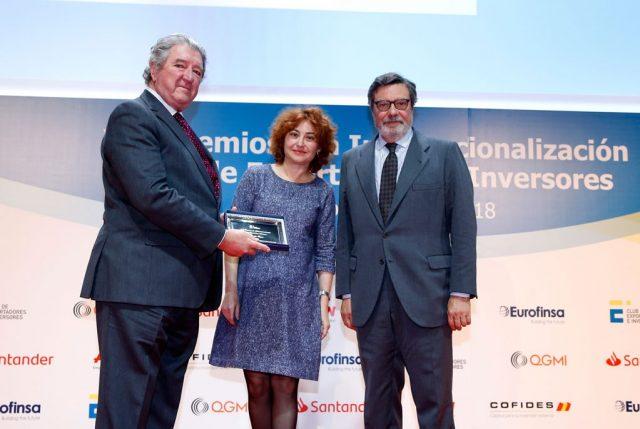 Entrega premios internacionales Gonzalez Byass