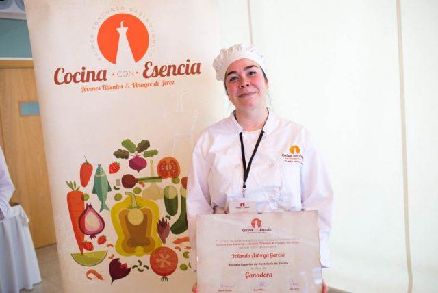 Yolanda Astorga García gana el III Concurso Gastronómico con Vinagre de Jerez