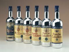 Antiguas botellas de Ponche Caballero