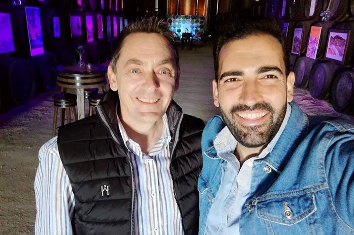 Andreas Rottmann y José Luis Jiménez