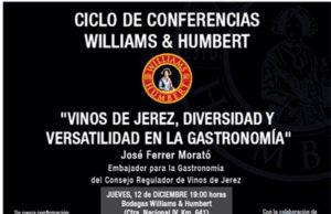 Williams conferencia