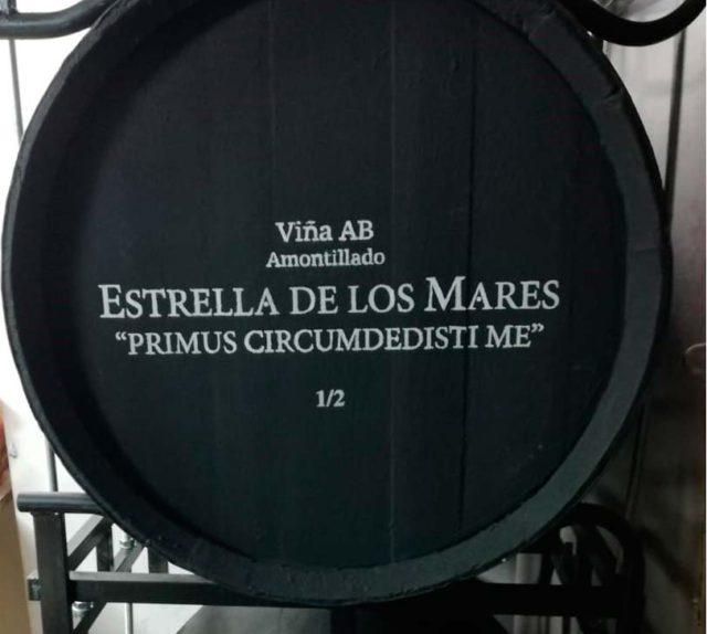 """El vino de Jerez Amontillado Viña AB """"Estrella de los mares"""" ya navega en el Juan Sebastián de Elcano"""
