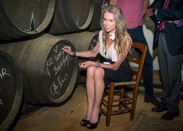 La Ceo y accionista de The IIsland Rum Company, Adéle Robberstad, visita las bodegas Williams & Humbert
