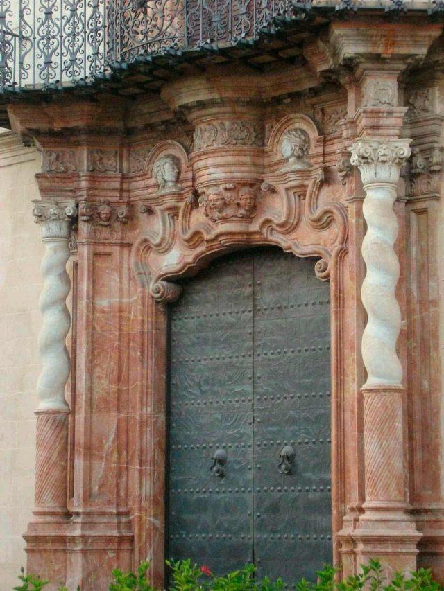 Fachada del Palacio Domecq en Jerez