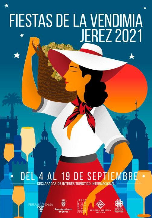 Programa Oficial de las Fiestas de la Vendimia de Jerez 2021