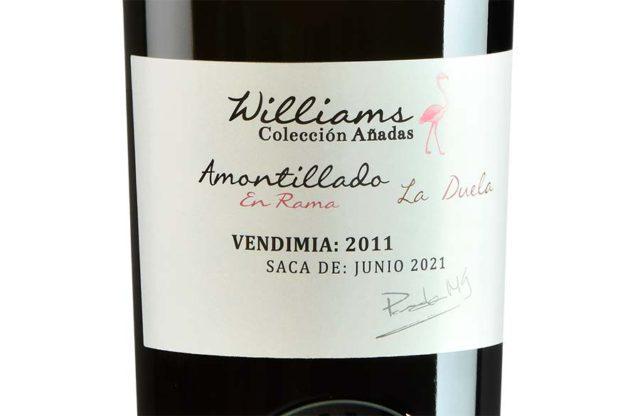 """Williams & Humbert lanza el Amontillado Añada 2011 """"La Duela"""""""