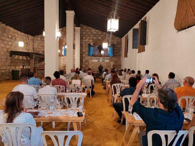 Cata de Cota 45 en La Sociedad Jerezana del Vino